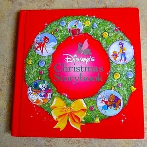 Disney's Christmas Storybook Hardcover Book